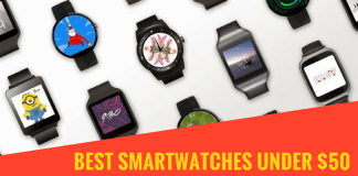 Best Smartwatches under $50