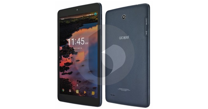Alcatel A30 tablet with 8-inch display