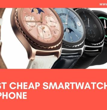 7- Best Cheap smartwatches for iPhone 2017