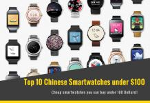 Best Chinese smartwatches under $100