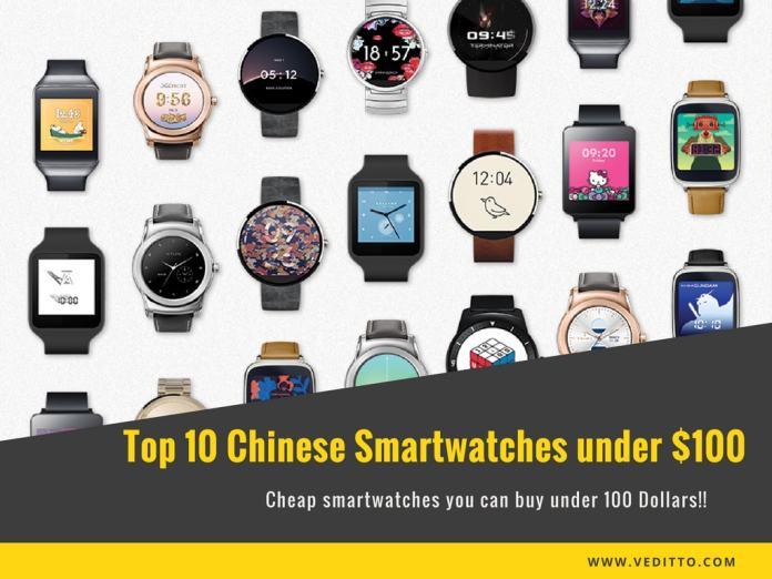 Best Chinese smartwatches under $100