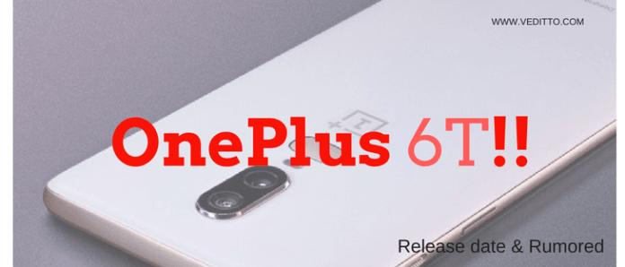 OnePlus 6T!!