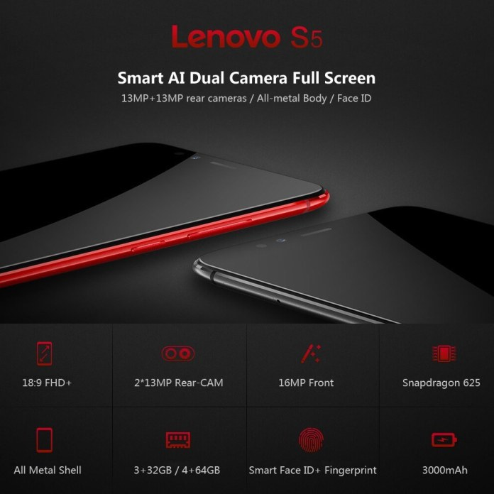 Lenovo S5 K520 4G Cellphone
