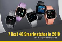 Best 4G Smartwatches 2018