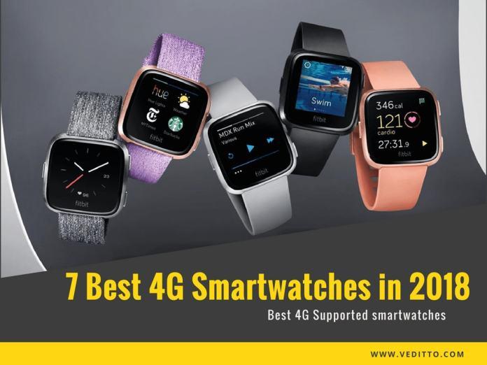 Best 4G Smartwatches 2018