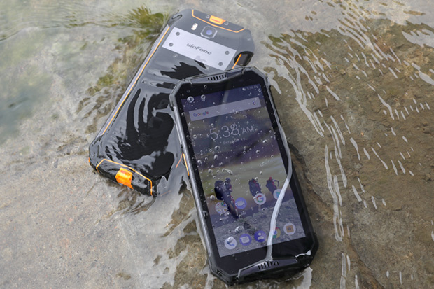 Armor 3T is a Digital Walkie-Talkie Smartphone