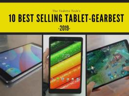 Best selling tablet gearbest 2019