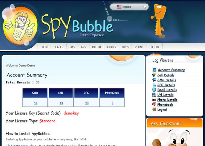 The Spy Bubble