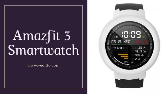 Amazfit 3 Smartwatch