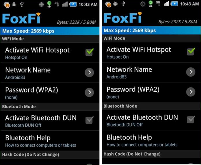 FoxFi App
