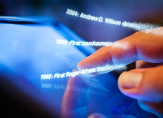 touch screen tech