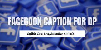 Caption for Facebook Profile Picture (DP):