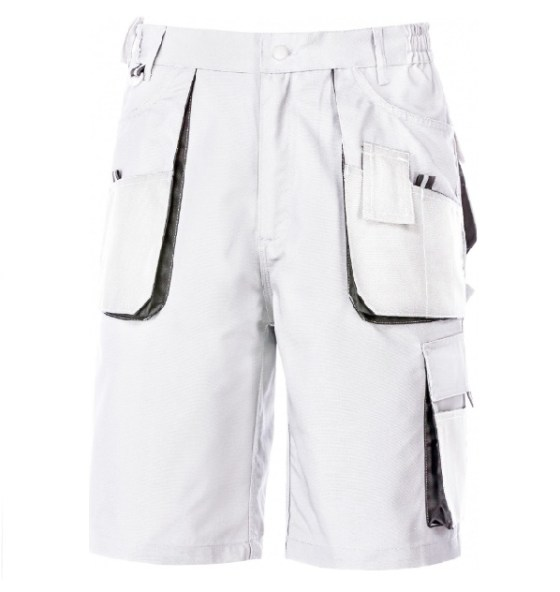 Power-fehér-rövidnadrág