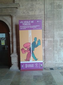Cartel de la exposición diseñado por Paco Roca