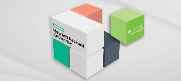 HPE buys Nimble Storage header