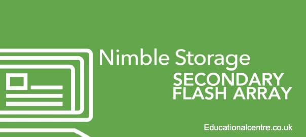 Nimble Secondary Flash Array Banner