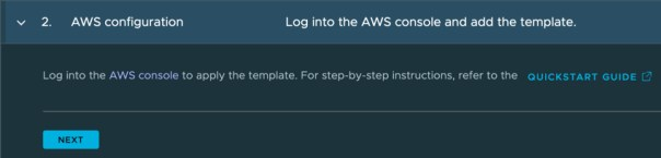 TMC - Create AWS cluster lifecycle management provider credential - AWS configuration