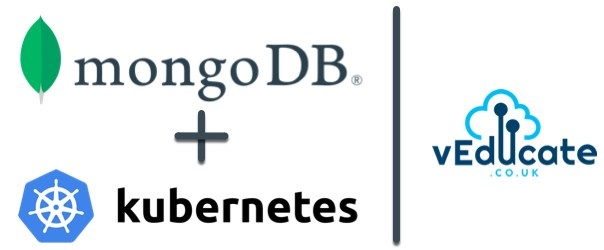 MongoDB + Kubernetes Header