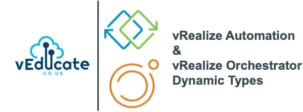 vRealize Automation vRealize Orchestrator Dynamic Types Header