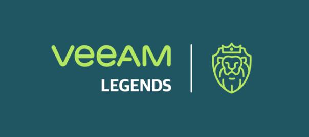 Veeam Legends part of the interview
