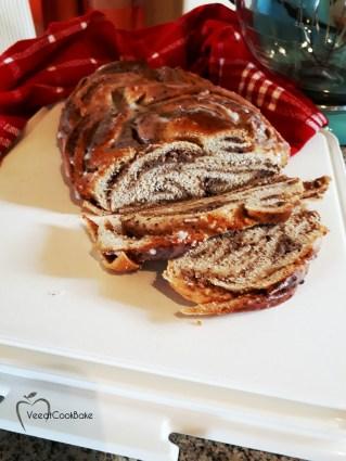 nusszopf kuchen vegan nut cake plantbased