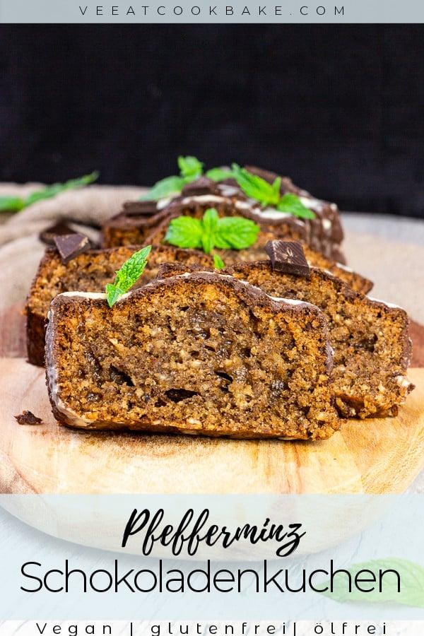 Pfefferminz-Schokoladenkuchen
