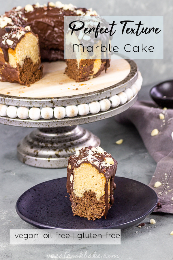 Veganer Marmorkuchen - marble cake gluten-free