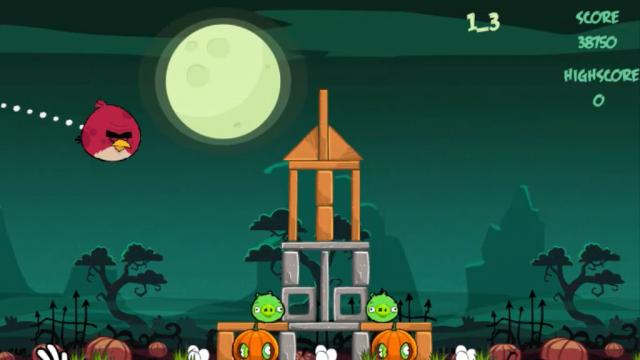 Angry Birds Halloween Hd Play Free Online Games On Vitogame Com