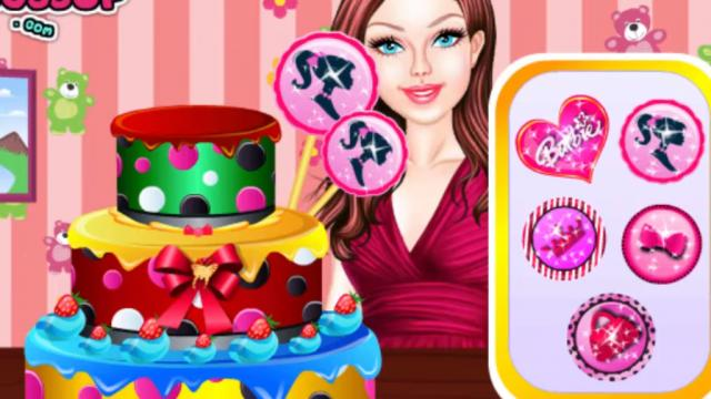 barbie wedding cake cooking games cake decoration mafa decoratingspecial 11070