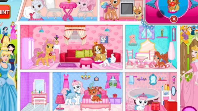 Doll House Decorating Games Online