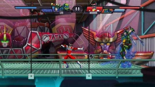 Ninja Turtles vs Power Rangers   Play free online games at JoyLand
