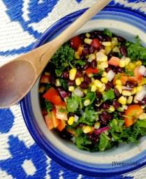 Black Bean & Kale Salad
