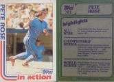 Pete Rose 1982 Topps #781