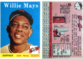 Willie Mays 1958 Topps #5