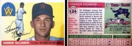 Harmon Killebrew 1955 Topps #124