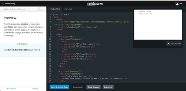 "Espacio de trabajo del curso de marketing digital de Codeacademy ""width ="" 730 ""height ="" 356 ""srcset ="" https://blog.hubspot.com/hs-fs/hubfs/codecademy-learning-environment-3.png?t=1526683799784&width=365&height=178&name=codecademy-learning-environment-3 .png 365w, https://blog.hubspot.com/hs-fs/hubfs/codecademy-learning-environment-3.png?t=1526683799784&width=730&height=356&name=codecademy-learning-environment-3.png 730w, https : //blog.hubspot.com/hs-fs/hubfs/codecademy-learning-environment-3.png? t = 1526683799784 & width = 1095 & height = 534 & name = codecademy-learning-environment-3.png 1095w, https: // blog. hubspot.com/hs-fs/hubfs/codecademy-learning-environment-3.png?t=1526683799784&width=1460&height=712&name=codecademy-learning-environment-3.png 1460w, https://blog.hubspot.com/hs -fs / hubfs / codecademy-learning-environment-3.png? t = 1526683799 784 & width = 1825 & height = 890 & name = codecademy-learning-environment-3.png 1825w, https://blog.hubspot.com/hs-fs/hubfs/codecademy-learning-environment-3.png?t=1526683799784&width=2190&height=1068&name = codecademy-learning-environment-3.png 2190w ""sizes ="" (max-width: 730px) 100vw, 730px"