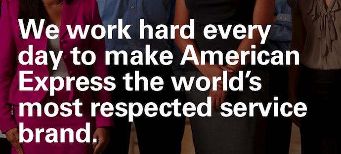 Visión y misión de American Express