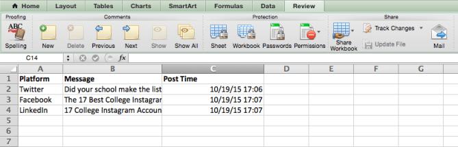 Inserte una fecha y hora actual en una celda en Excel
