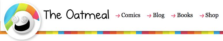 """El encabezado del sitio web de avena """"title ="""" theoatmeal.png"""