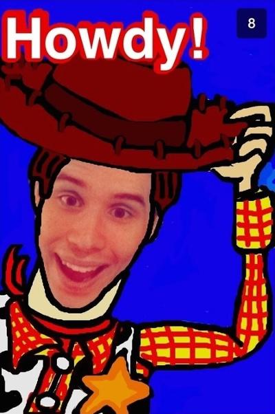 """Fácil dibujo en Snapchat de Woody de Toy Story """"title ="""" woody-toy-story-snapchat-1.jpg """"width ="""" 400 """"style ="""" width: 400px"""
