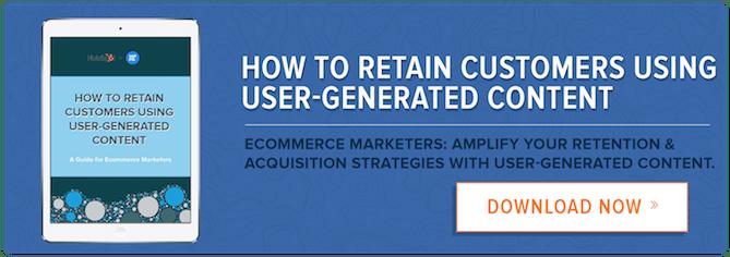 Amplifique sus estrategias de retención y adquisición con el poder del contenido generado por el usuario.