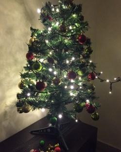 christmas lights! bangalore, india. december 2015.