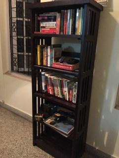 the rhodes bookshelf from urban ladder. bangalore, india. january 2016
