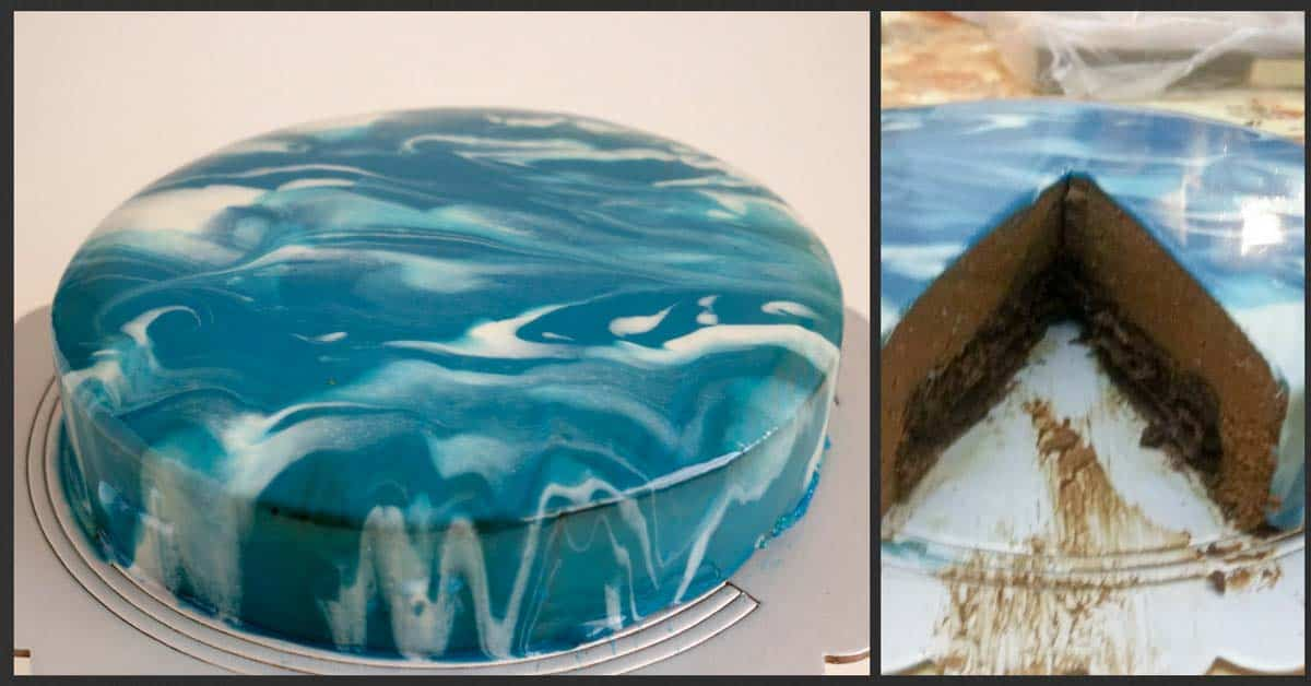 How To Make A Mirror Glaze Cake Aka Mirror Glaze Veena