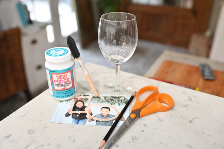 Wine Glass DIY for Mother's Day