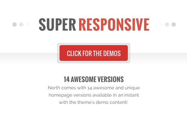 North - One Page Parallax WordPress Theme - 10