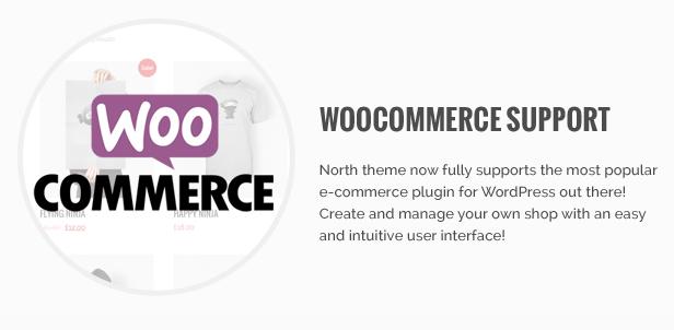 North - One Page Parallax WordPress Theme - 12