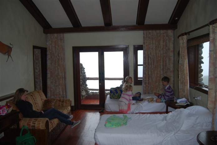 """De """"suite"""" waar een deel van ons (papa, mama, Malou, Olivia) in verblijft"""