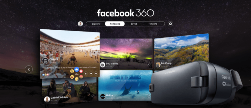 Facebook Live Launches 4K 360 Video Streaming for Better VR Experiences