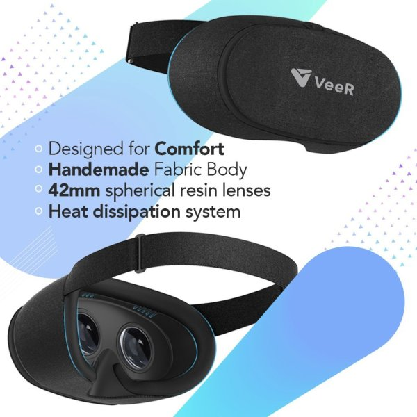 VeeR 360 fabric headset